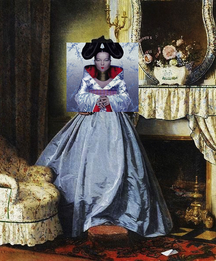 Homogenic By Björk + The Love Letter By Auguste Toulmouche