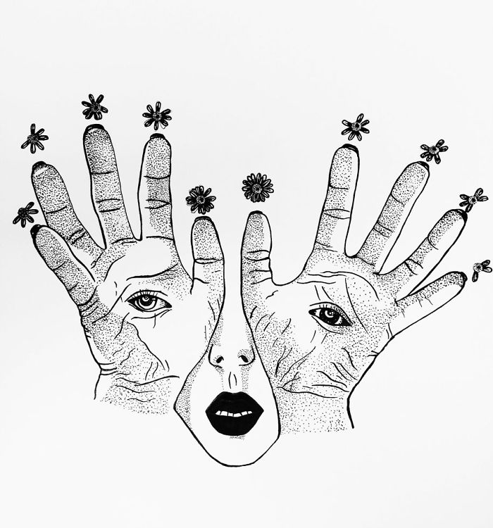 I Draw Surreal Illustrations To Battle My Way Out Of Social Anxiety