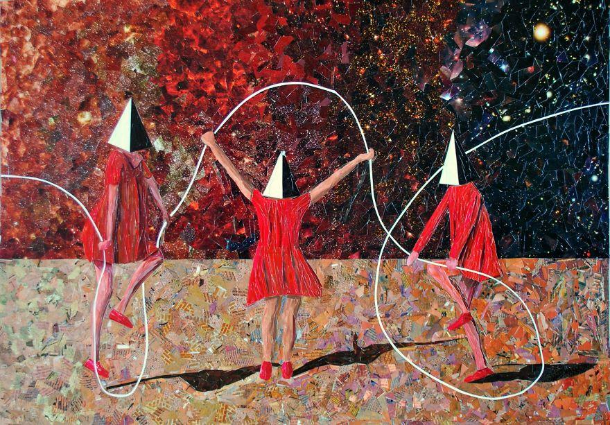 Albin Talik |Paper Collages