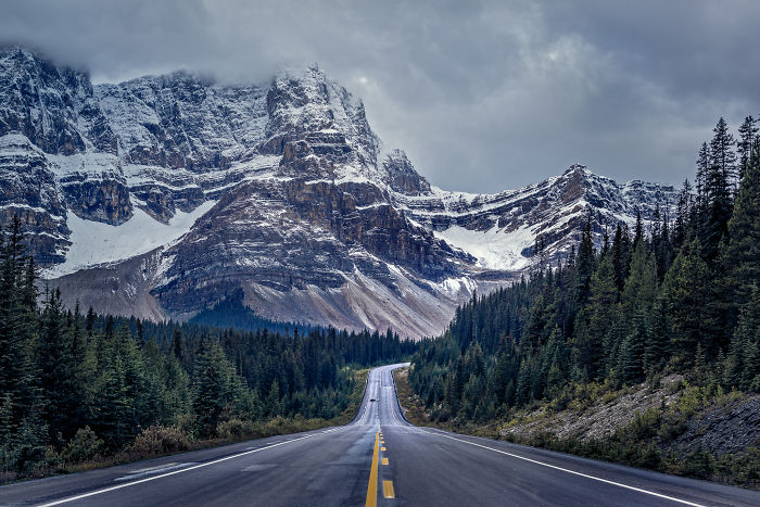 The Canadian Rockies Is The Most Beautiful Place That I've Ever Travelled To