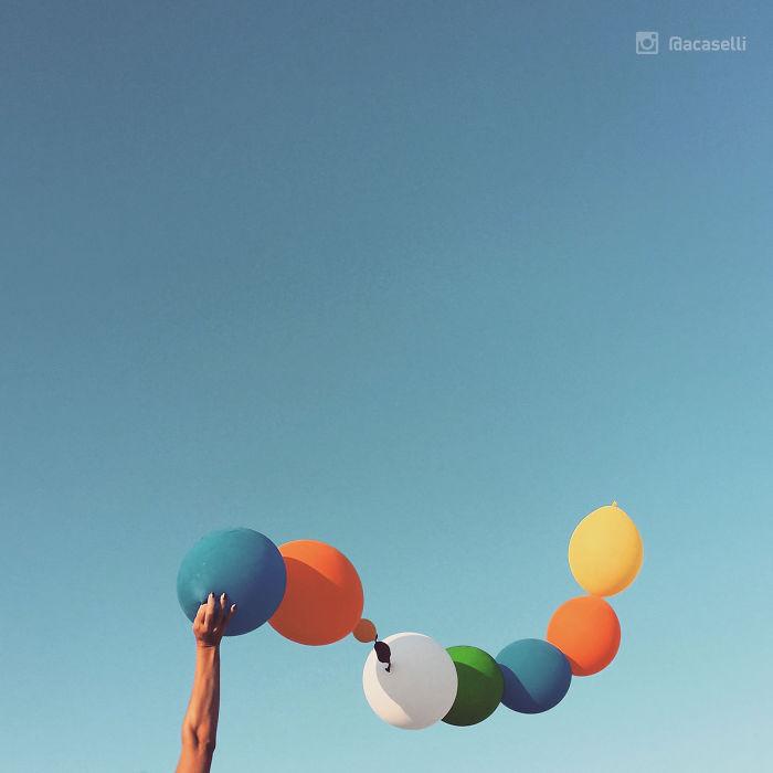 Inspiring & Stunning Blue Sky Minimal  Photography – Instagram Series 1