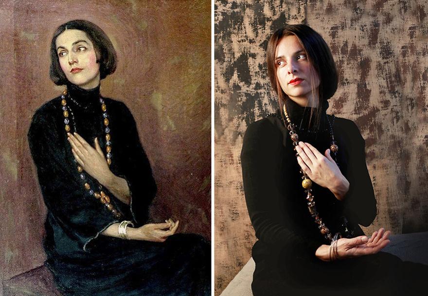 Paul Swan Isadora Duncan 1922