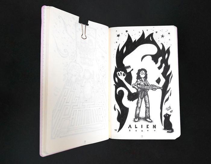 Alien, Ridley Scott, 1979