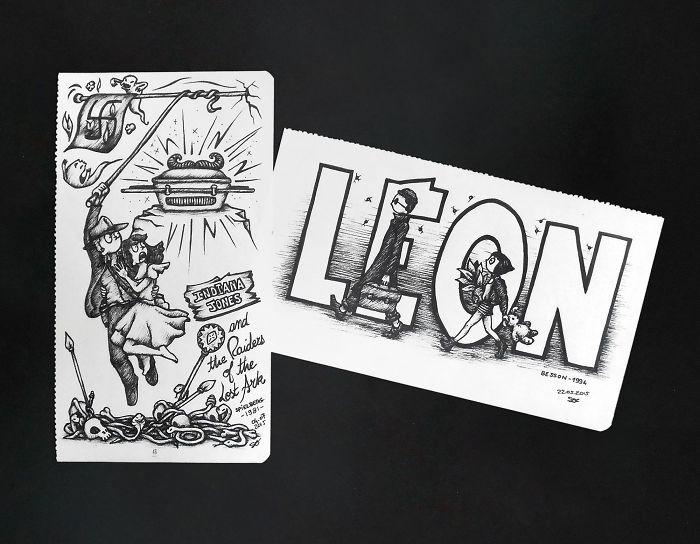 Indiana Jones & The Raiders Of The Lost Ark, Steven Spielberg, 1981 // Léon, Luc Besson, 1994