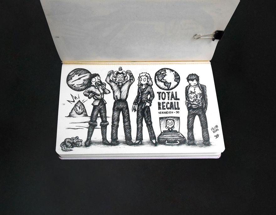 Total Recall, Paul Verhoeven, 1990