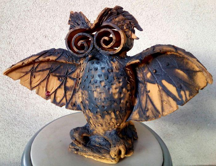 Owls In Gallery Sonja Bikic