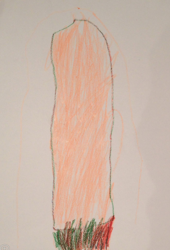 My Son Drew A Lightsabre. No Really, It's A Lightsabre.