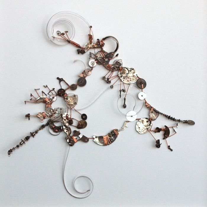 I Turn Parts Of Mechanical Watches Into Abstract Sculptures