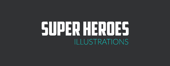 Super Heroes Illustrations By Shruti Gupta