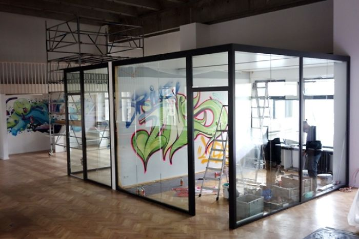 This Office In Berlin Got Completely Transformed By Graffiti Painters