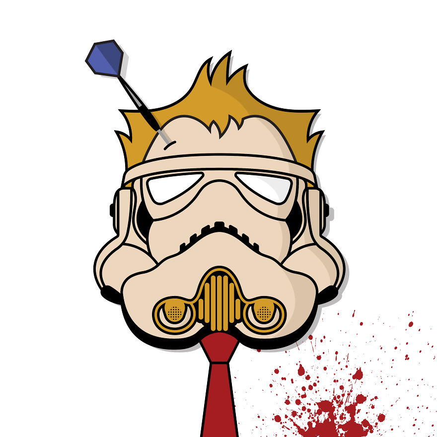We've Crossed Stormtroopers With Pop Culture Icons To Create 'stormdupers'