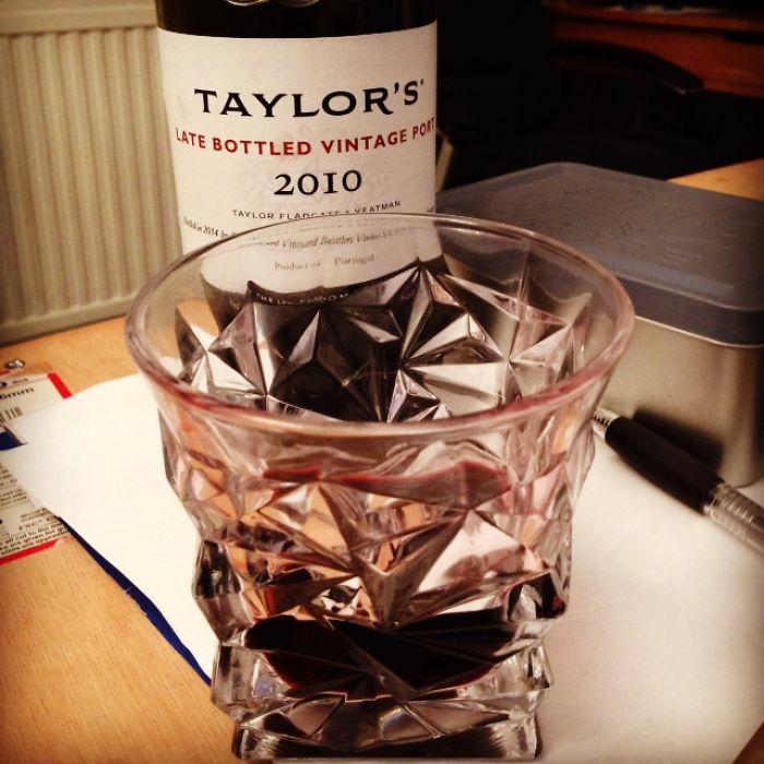 A Glass I Had Made Like A Crushed Tin Can