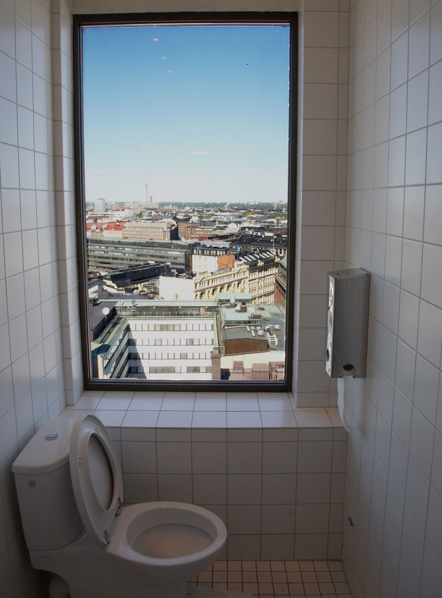 Hotel Torni's Famous Toilet With A View, Finland