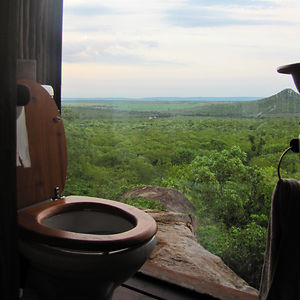 Toilet In Safari Lodge, South Africa