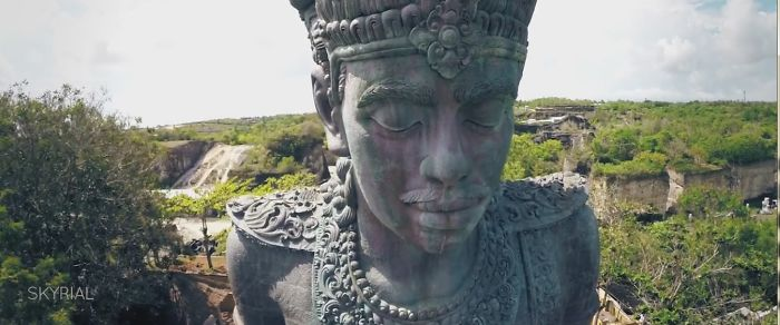 An Epic Adventure At Garuda Wisnu Kencana (gwk) Bali – Aerial Video By Skyrial