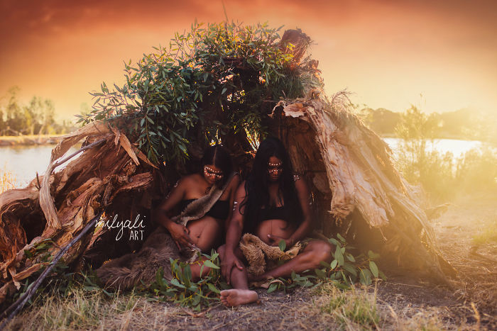 Australian Aboriginal Photographer Creates Stunning Baby Photos Celebrating Indigenous Culture