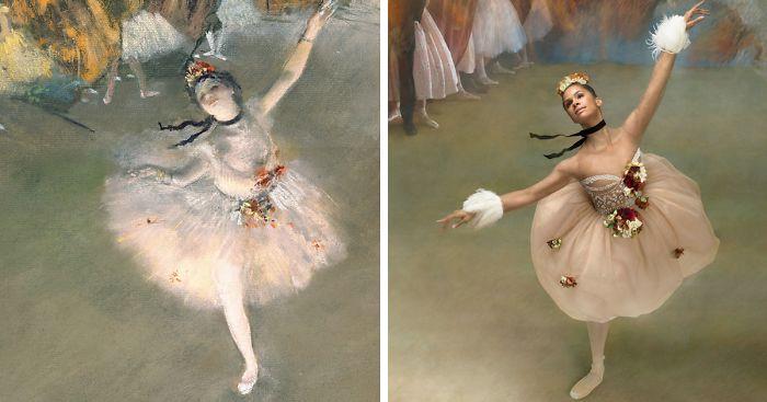 4b174f9de16a Ballerina Recreates The Paintings Of Edgar Degas