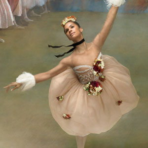 Ballerina Recreates The Paintings Of Edgar Degas