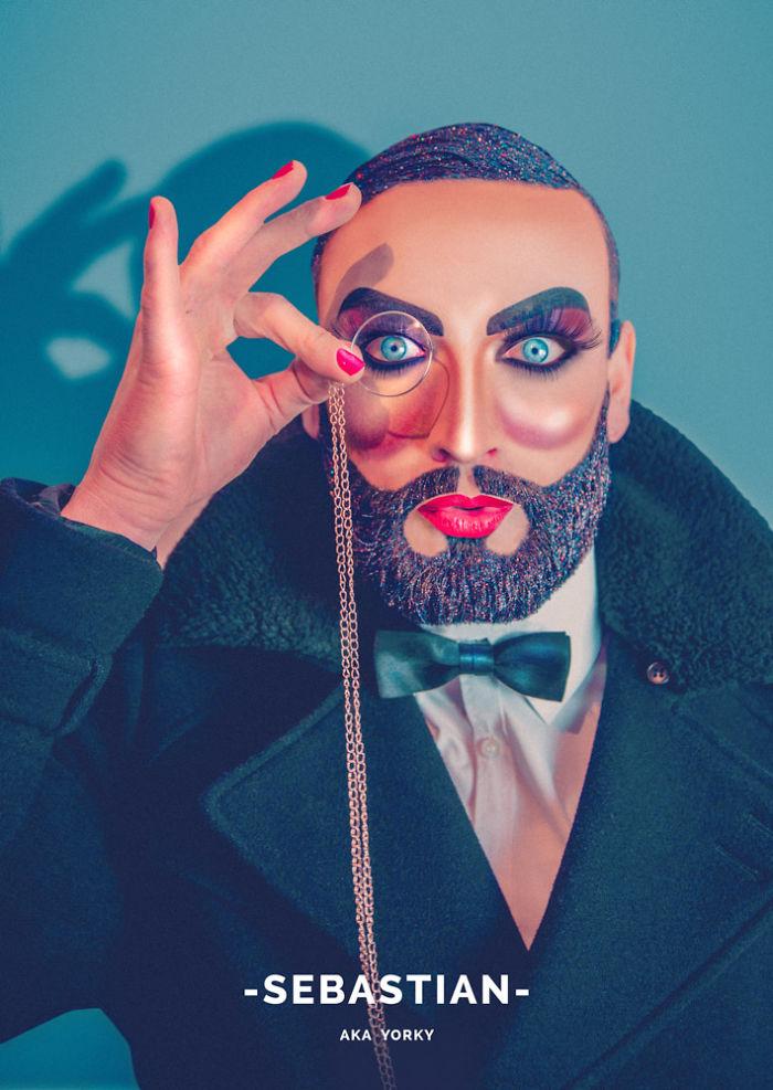 Bearded Brutes: I Take Glitter Beard Themed Photographs