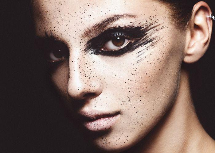 Belarusian Make-Up Artist Kate Euphoria Creates Unique Styles