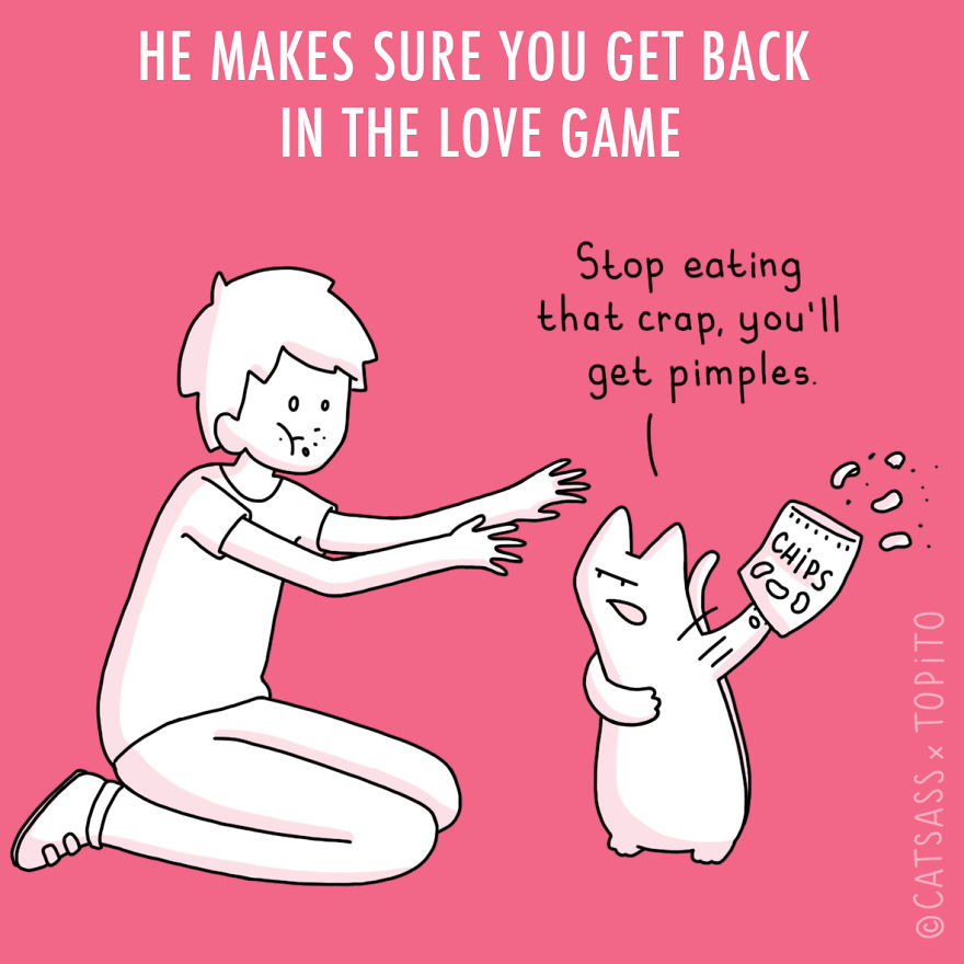 He Makes Sure You Get Back In The Love Game