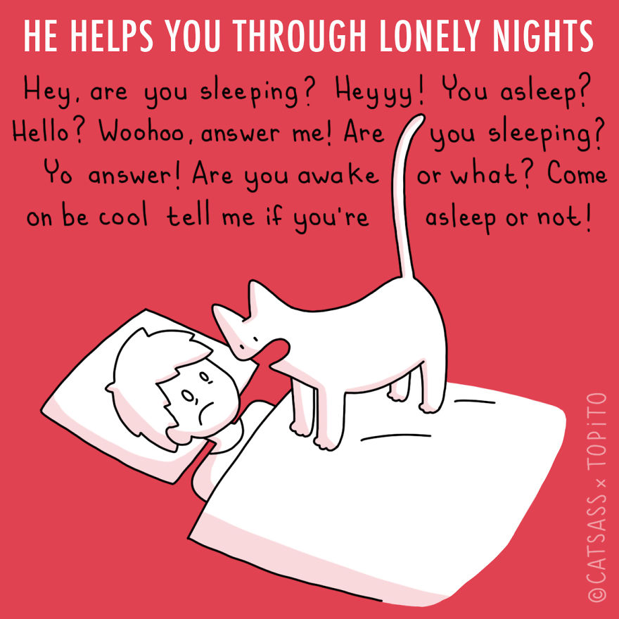 He Helps You Through Lonely Nights
