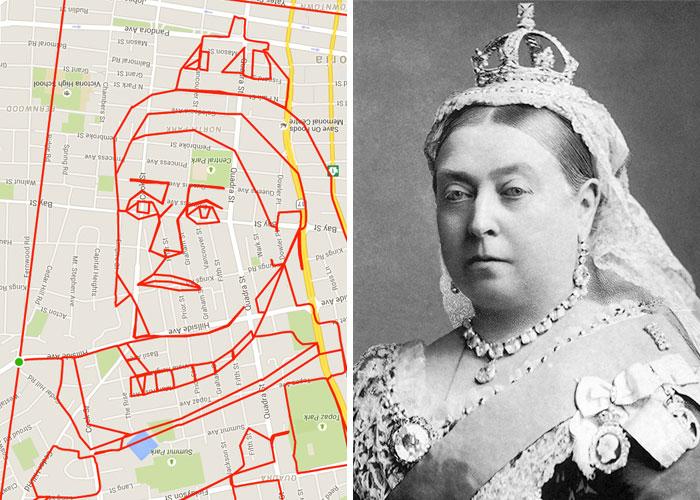 Queen Victoria (15.7 km, 56 min)