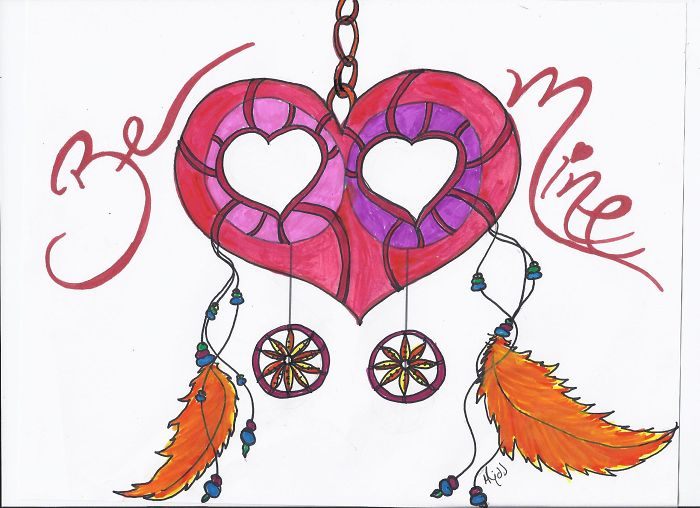 Be Mine Dream Catcher