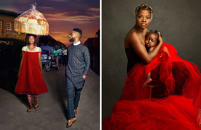 Nigerian Bread Seller Accidentally Photobombs Popstar And Gets Modeling Contract