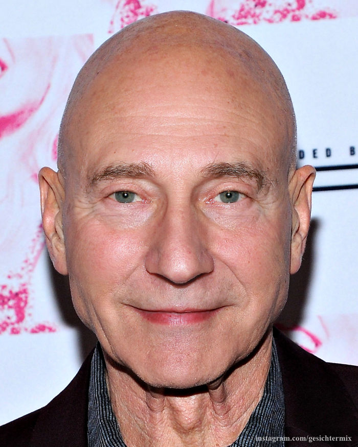 Brent Spiner And Patrick Stewart Mixed: