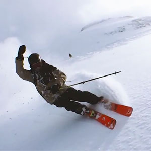 Skier Swings An iPhone 6 Around His Head For A Matrix-like