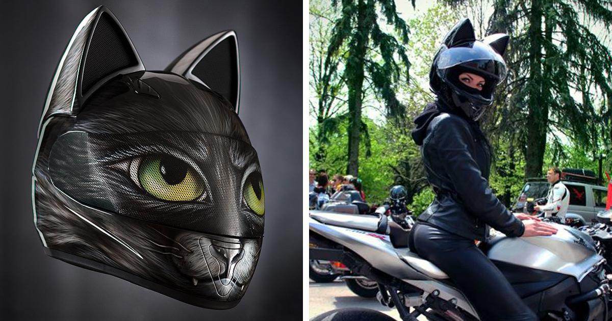 Nitrinos Helmets Cat Ear