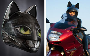Cat Helmets With Ears From Russia