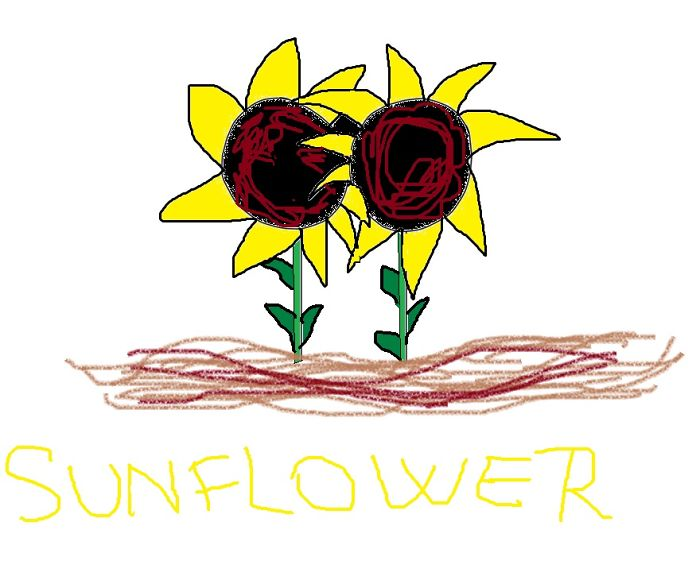 Sunflowers .. Wish It's Not Ugly :))