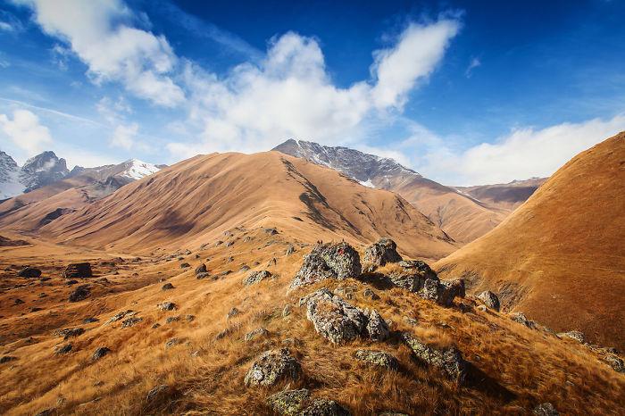 Climbing Georgian Mountains Will Get You Close To The Sky