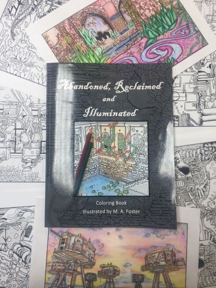 Coloring Book Of Abandoned Places