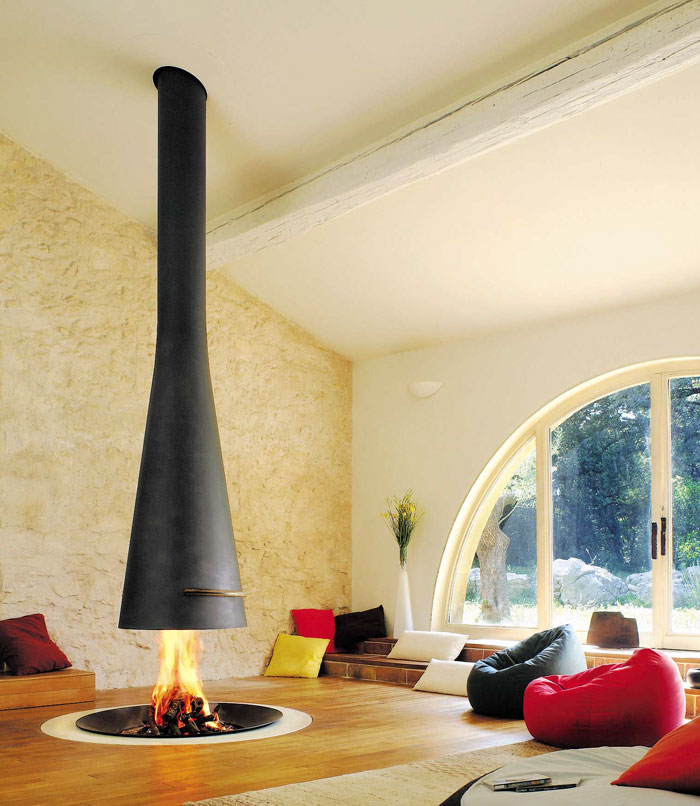 Ultra Cool Fun Creative Interior Design: 20+ Of The Coolest Fireplaces Ever