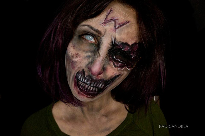 Creepy Body Art
