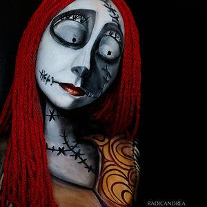 Creepy Body Art