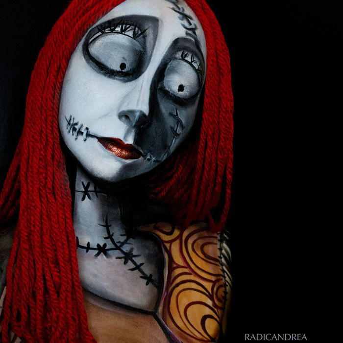Makeup Artist Turns Herself Into Creepy Monsters That Ll Give You Nightmares Bored Panda