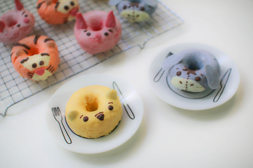 Pooh Bear & Friends Donuts