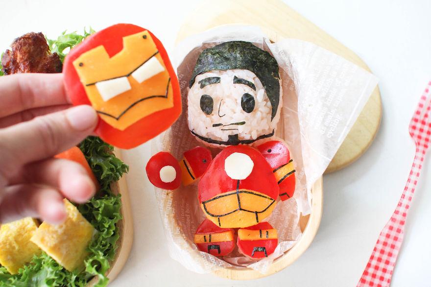 Ironman Bento