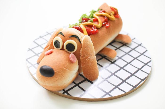 Hot Dog Bread Bun