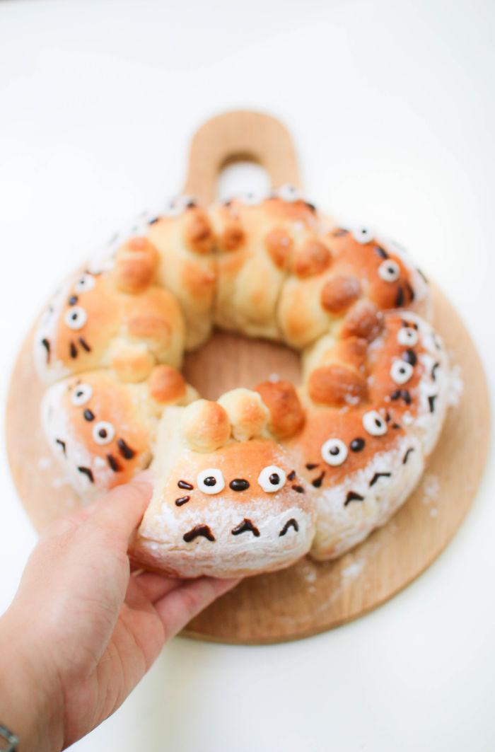Totoro Bread Buns