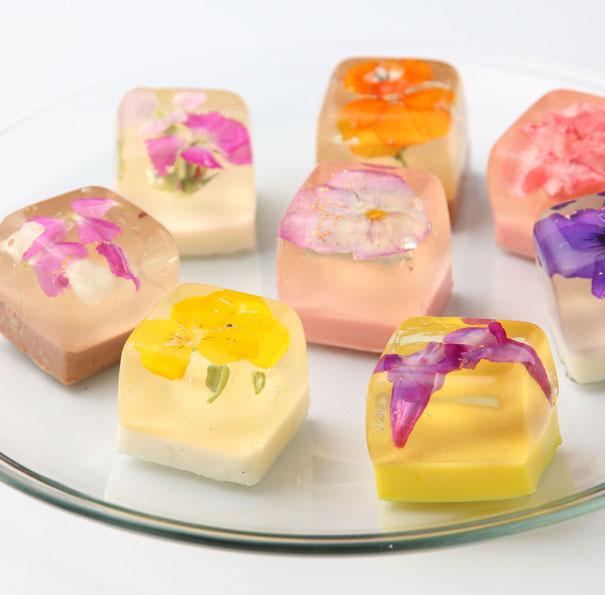 Flower Desserts