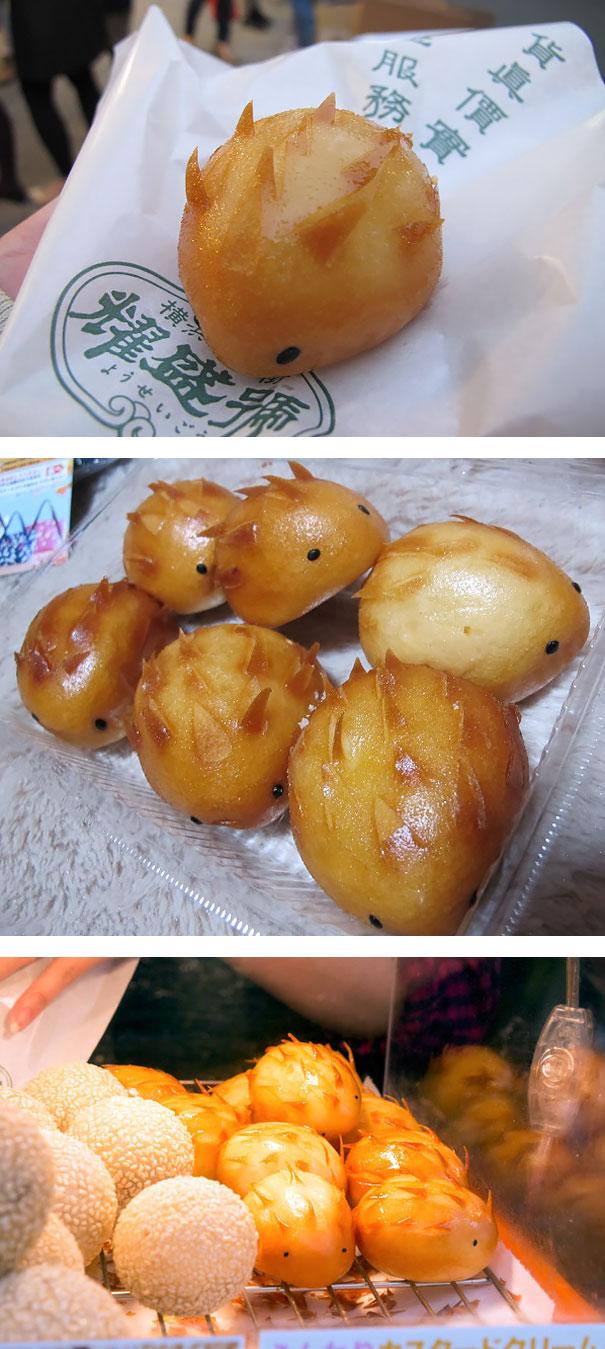 Yokohama's Hedgehog Dumplings