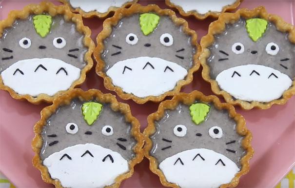 Totoro Tarts