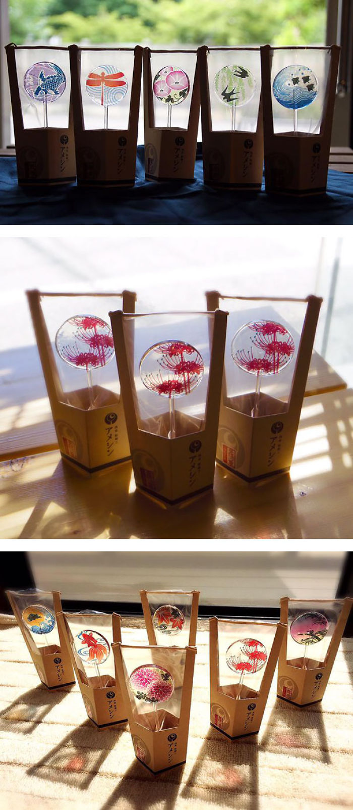 Uchiwa' Lollipops