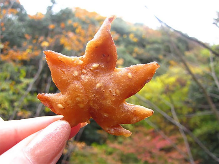 Fried Maple Leaves Are A Tasty Autumn Snack In Japan