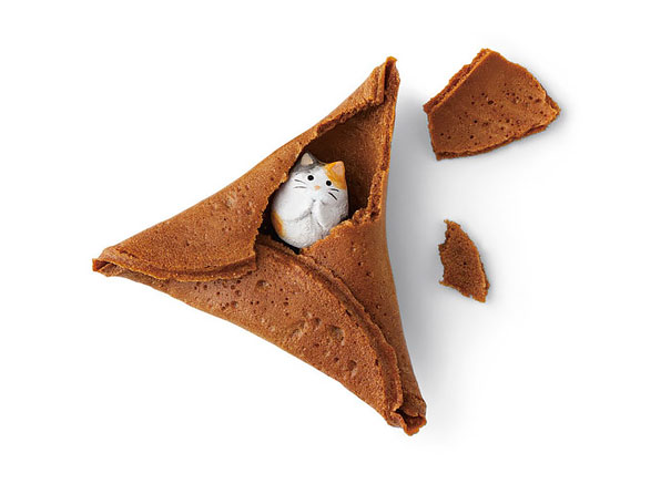 Fortune Cat Rice Crackers